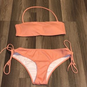 Peach bikini from PINK